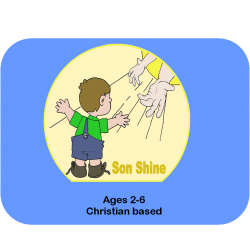 2 Children for 9 months with shipping of Son Shine Curriculum
