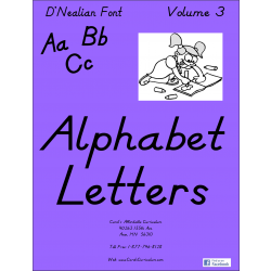 Abc D'nealian Vol. 3 Plus Practice Sheets!