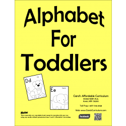 Alphabet for Toddlers