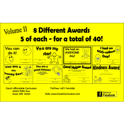 Award Packet Vol. 2