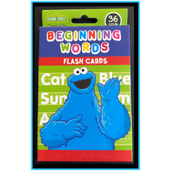Beginning Words Flash Cards
