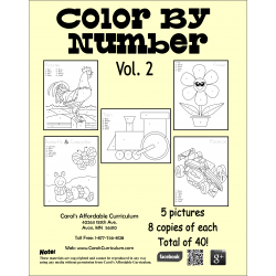 Color By Number Vol. 2