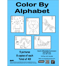 Color By Alphabet