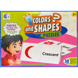 Colors and Shapes Puzzles