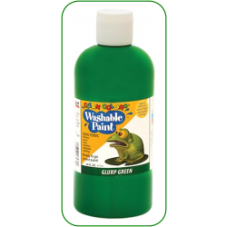 Green Washable Paint