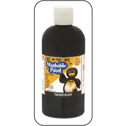 Black Washable Paint
