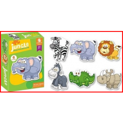 Jungle Jig Saw Puzzle