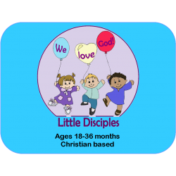 2 Children for 9 months with shipping of Little Disciples Curriculum