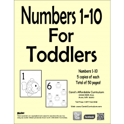 Numbers for Toddlers