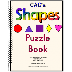 Shapes Puzzle Book