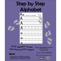 Step by Step Alphabet