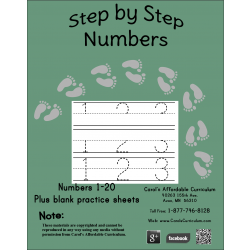 Step by Step Numbers