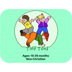 3 Children of Tiny Tots curriculum plus shipping